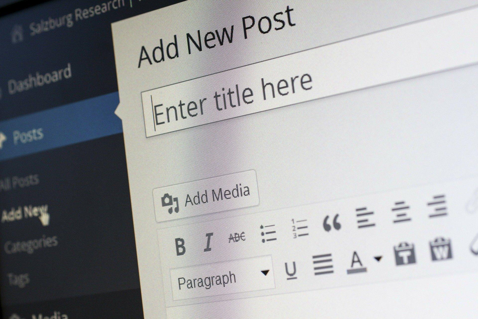 Narzędzia przydatne blogerom - planowanie, pisanie, kontrola